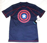 Marvel Captain America Activewear Mens Tee shirt Size Medium