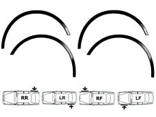 SEAT ALHAMBRA Mk1 Wing Wheel Arch Trim 4 pcs Front Rear Fender Molding Kit sale