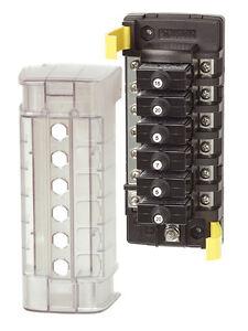 BlueSea 5052 6 Circuit Breaker Block w/GND