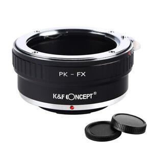 K&F Concept Objektiv Adapter für Pentax PK Objektiv auf Fujifilm X X-T30 X-Pro2