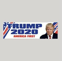 Donald Trump For President 2020 Bumper Sticker Premium Quality Decal