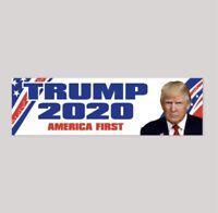 Donald Trump For President 2020 Bumper Sticker Premium Quality Decal