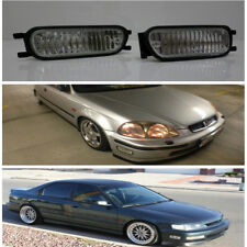 JDM Style Front Bumper Intersection Fog Light Lamp ~ Honda Civic Integra Accord