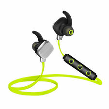 Bluetooth Headphones Stereo Wireless Headset Sport Earbuds with Mic for Running