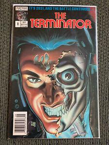 THE TERMINATOR #1   NOW COMICS   NEWSSTAND   1988  