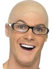 Bald, Skin Head Adult Unisex Smiffys Fancy Dress Costume Hat
