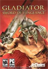 GLADIATOR Sword of Vengeance Action PC Game NEW Box XP!