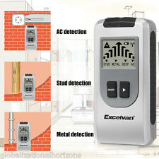 New 4 in 1 Intelligent Stud Scanner AC Live Wire Finder Wood Metal Detector Wall