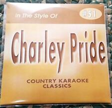 CHARLEY PRIDE CDG KARAOKE COUNTRY CLASSICS CKC #51 CD+G MOUNTAIN OF LOVE