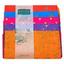Commercio equo carta Lokta cinque fogli regalo Wrap Pack gwp57