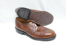 Bootmaster by Thom McAn Brown Leather size 7D made in Usa oil chemigum proof