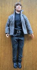 JUSTIN BIEBER DOLL SINGING BABY BABY BABY OH USED CLOTHED BLACK TOP GREY JACKET