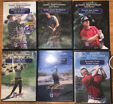 6 Golf Instruction Dvds Pga Tour Partners Club Improvement Dvd Series Tom Lehman