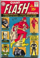 Flash Annual 1 DC 1963 FN 80 Page Giant 1st Elongated Man Star Sapphire Grood