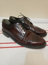 RARE Florsheim Imperial 512468 Vintage SHORT Wingtip Size 10.5 E S050