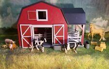 Terra by Battat – Wooden farm Animal Barn – Toy Barn Farm Toys Playset