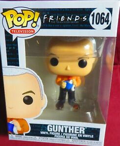 """BRAND NEW, FUNKO POP """"TV"""", from """"FRIENDS"""", GUNTHER, #1064,  IN STOCK"""