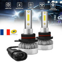 LED Phare Ampoule 9012 HIR2 Jour Nuit 110W 26000LM COB CREE 2-Chips Lampe 6000K