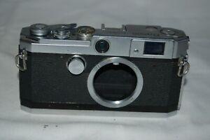 Canon-L2 Vintage 1956 Japanese Rangefinder Camera. Serviced. No.537699. UK Sale