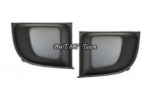 FOR FIAT 500 2007-2015 FRONT LOWER BUMPER COVER GRILLE TRIM LEFT+RIGHT PAIR