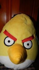 "Angry Birds 14"" Inch  Jumbo Yellow Bird Plush Officially Licensed w/ Sound + Tag"