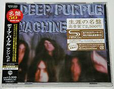 DEEP PURPLE - MACHINE HEAD, 2008 JAPAN SHM-CD + OBI, SEALED! FREE SHIPPING!