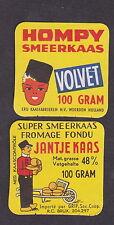 Anciennes  petites étiquettes fromage Hollande BN146114 Homme