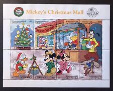 DOMINICA DISNEY MICKEY'S CHRISTMAS MALL STAMP SHEET 1988 MNH GOOFY POOH DONALD