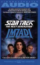STAR TREK The Next Generation IMZADI Audiobook (1992, Cassette)  used