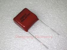 10pcs 1.5uF 155J 400V CBB Metallized Film Capacitor P=15MM