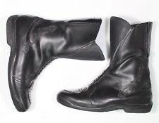 DAYTONA Motorradstiefel Schuhe Leder schwarz Größe 44 0736 gebraucht