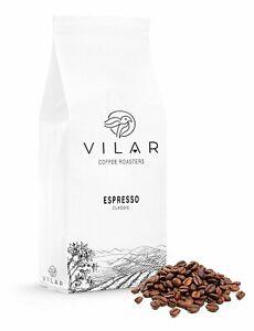1 Kg , 2.2 Lb Vilar Espresso Coffee Beans Medium or Dark Roast - Classic Blend