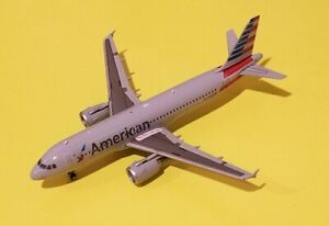 Gemini Jets 1:400 American Airlines A320 N117UW see description