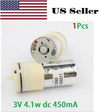 370 DC Air Pump 370 motor 3-6V 4.1w dc 450mA Oxygen  Mini micro small air pump