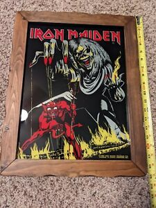 Iron Maiden Glass Mirror carnival
