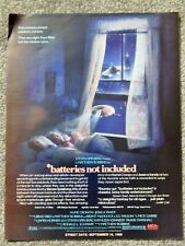 BATTERIES NOT INCLUDED (VIDEO DEALER BROCHURE 1988) SCI-FI, JESSICA TANDY