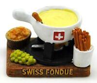 Fondue Käse Cheese Poly Fertig Modell,Souvenir Schweiz Suisse