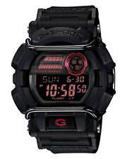 Casio G-Shock GD-400-1D Face Protector Black Resin Digital Men's Sport Watch