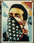 Obey Giant AMERICAN RAGE Shepard Fairey Ted Soqui Signed #/550 Print New