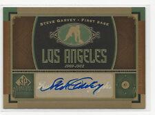 Steve Garvey 2012 Upper Deck SP Signature Edition Auto Card Dodgers #LA6