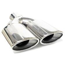 Doppel Auspuffblende Endrohr Auspuff Für Mercedes C CLK CLS E G Klasse AMG