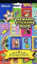 Childrens Kids Stickers Book Reward & Over 400 + Decorative Stickers