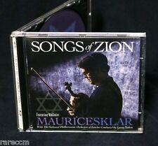 MAURICE SKLAR Songs Of Zion 1995 CD HOSANNA MUSIC INSTRUMENTAL VIOLIN