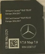 Carte SD GPS MERCEDES (Star2) GARMIN MAP PILOT Europe 2017 v7 (SD CARD)