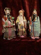 Shou-Fu-Lu set of 3 Chinese Gods