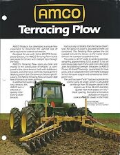 Farm Implement Brochure - AMCO - Terracing Plow (F5271)