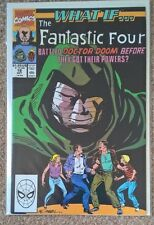 Marvel What If 18 Fantastic Four Without Powers vs Doom High Grade