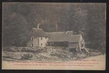 Postcard ALSACE LORRAINE FRANCE  Lumber Saw Mill Factory view 1910's