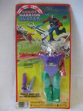 MOC vintage Imperial Robot Warrior AVATAR Robots Lasers & Galaxies figure 1984 !