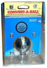 "Convert-A-Ball 301B 1 7/8"" Solid Stainless Steel Ball"